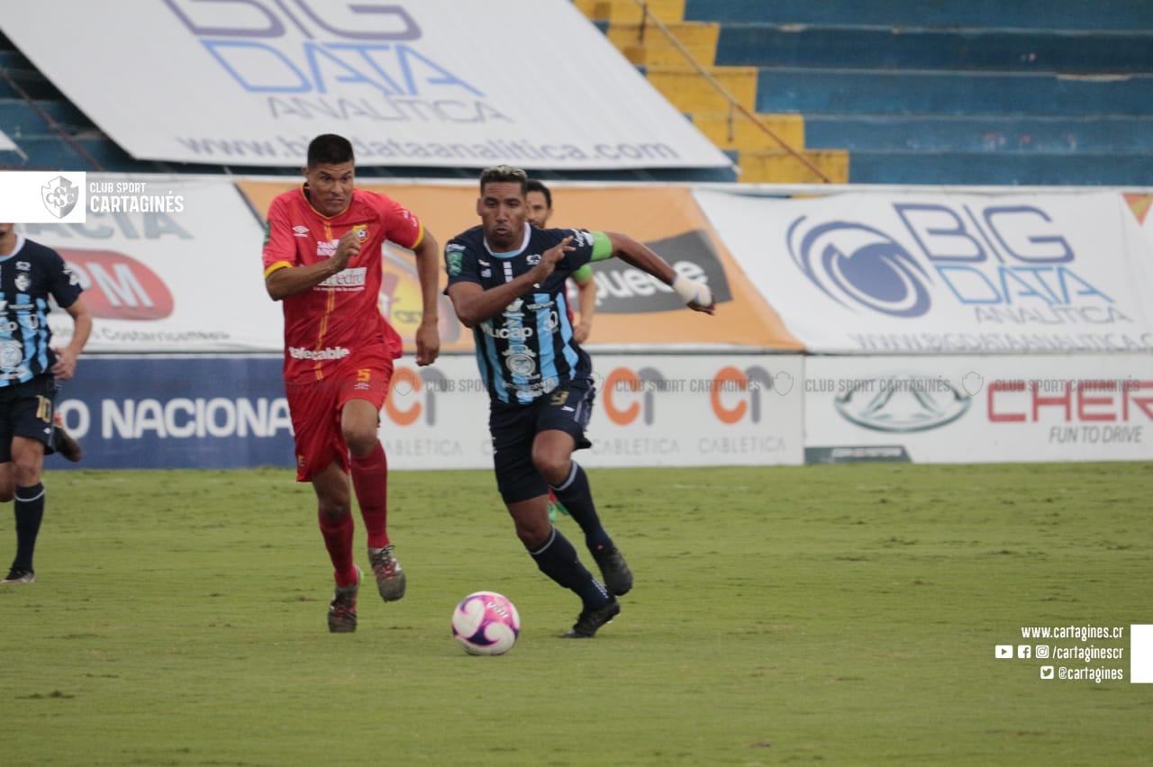 Herediano derrota a domicilio al Cartaginés y asegura boleto a semifinales como segundo del Grupo A.