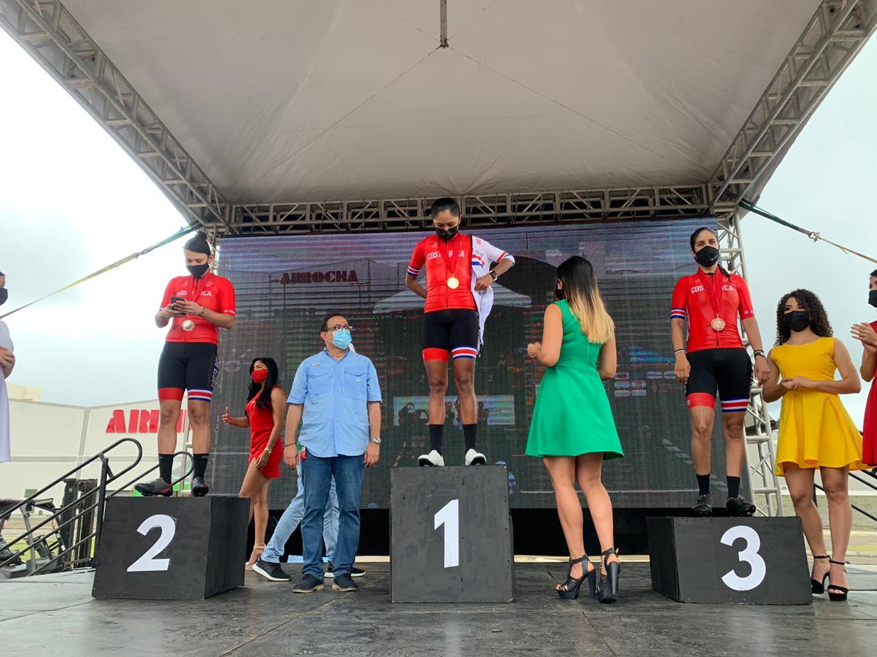 Ciclismo femenino se lució en Panamá y se trajo el podio para Costa Rica.