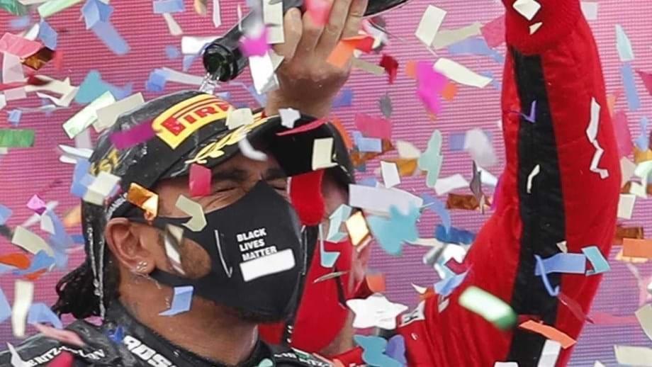 Lewis Hamilton se corona campeón de la Fórmula 1 e iguala el récord de Michael Schumacher.