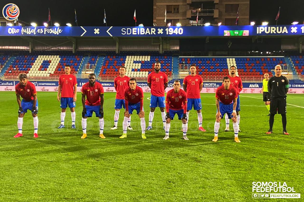 Costa Rica cae ante País Vasco y cierra el 2020 con un rendimiento del 6,66% (4 derrotas y un empate).