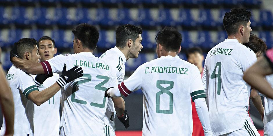 México mantiene invicto en el año con sufrido triunfo sobre Corea del Sur.