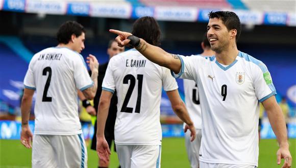 Uruguay goleó a Colombia en Barranquilla.