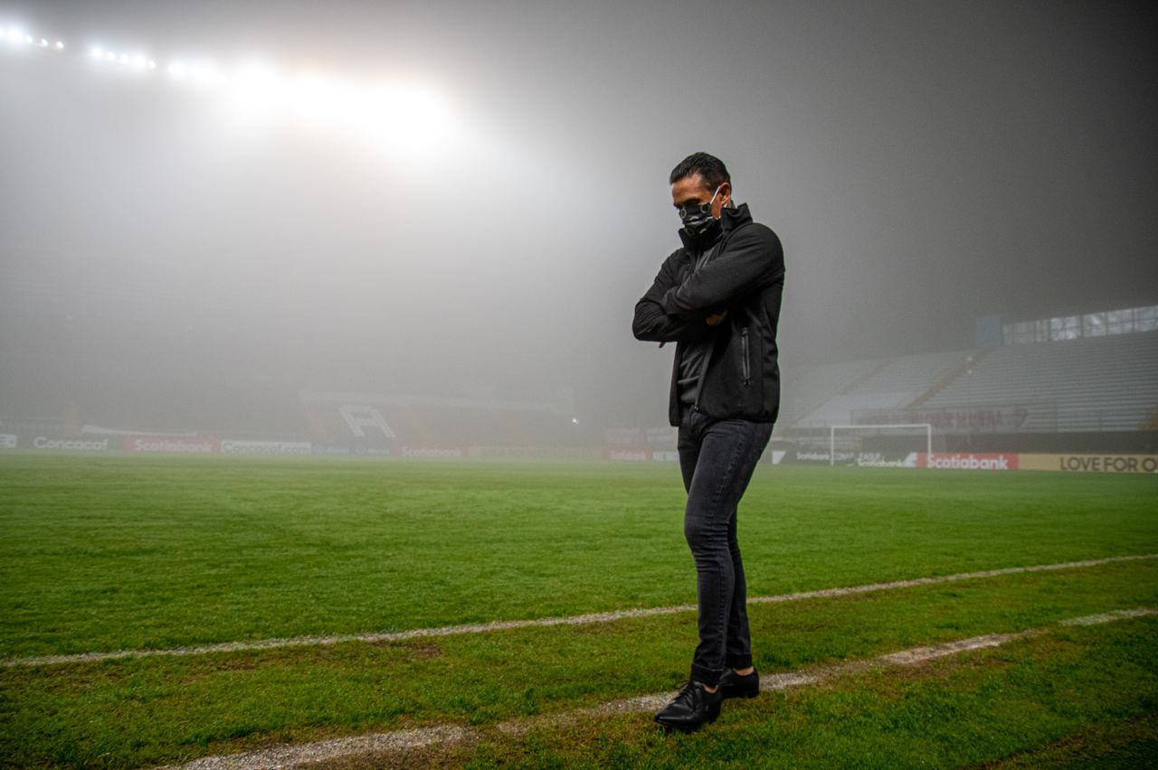 """Walter Centeno: """"Lo más feo ya pasó, el equipo ha ido mejorando""""."""