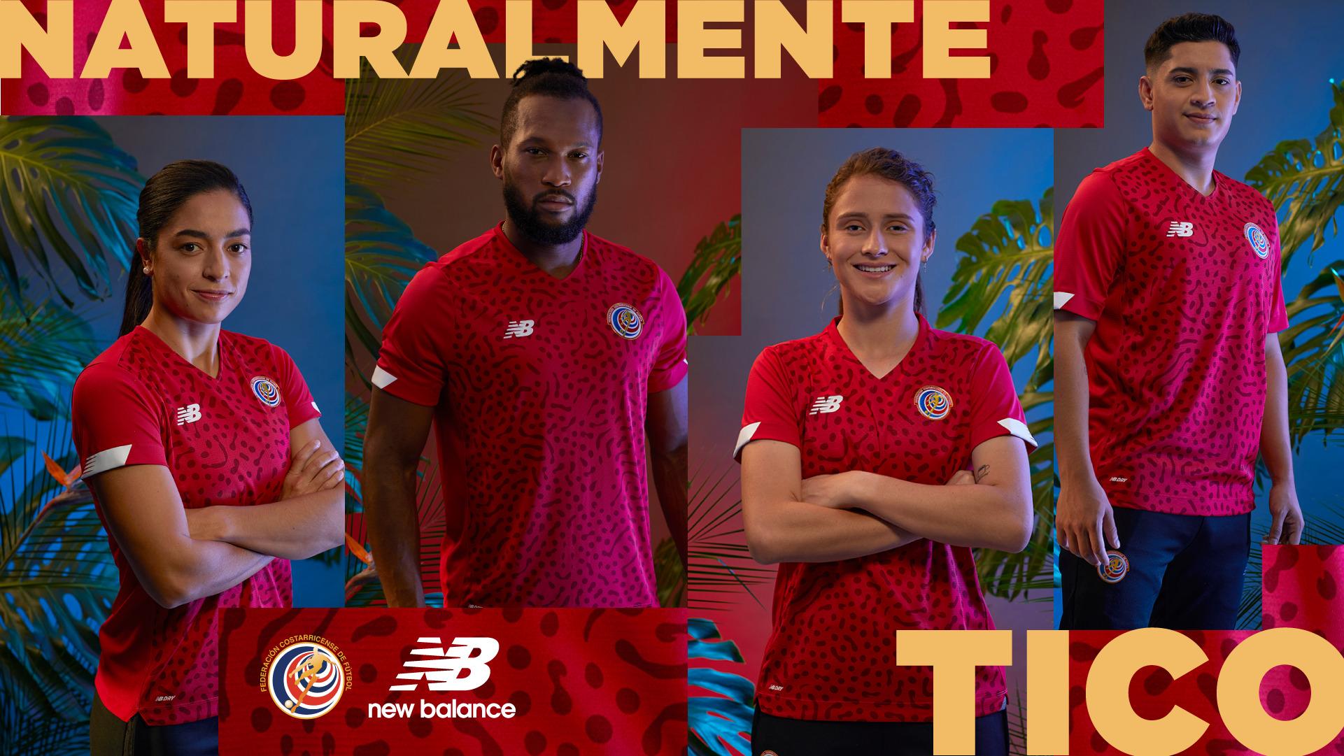 Biodiversidad costarricense inspiró la nueva camiseta de New Balance para las Selecciones Nacionales.
