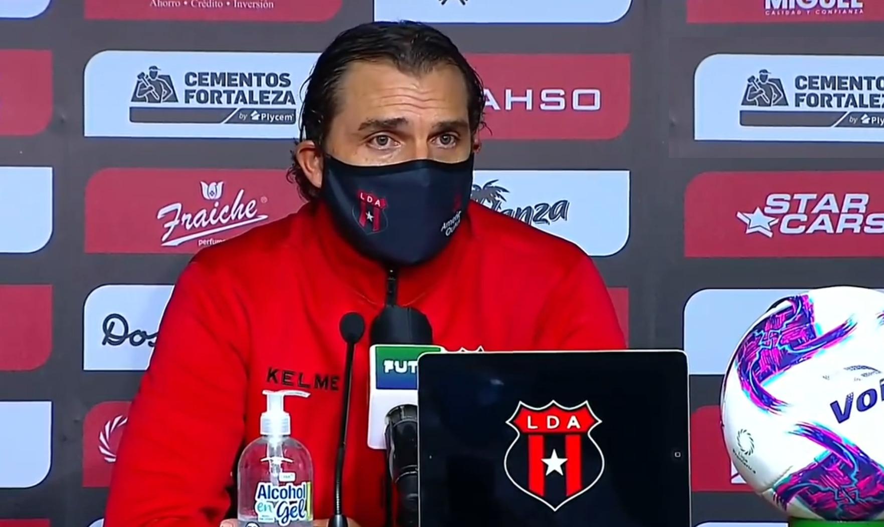 "Andrés Carevic: ""Jugamos con el marcador, porque el objetivo era llegar a la final""."