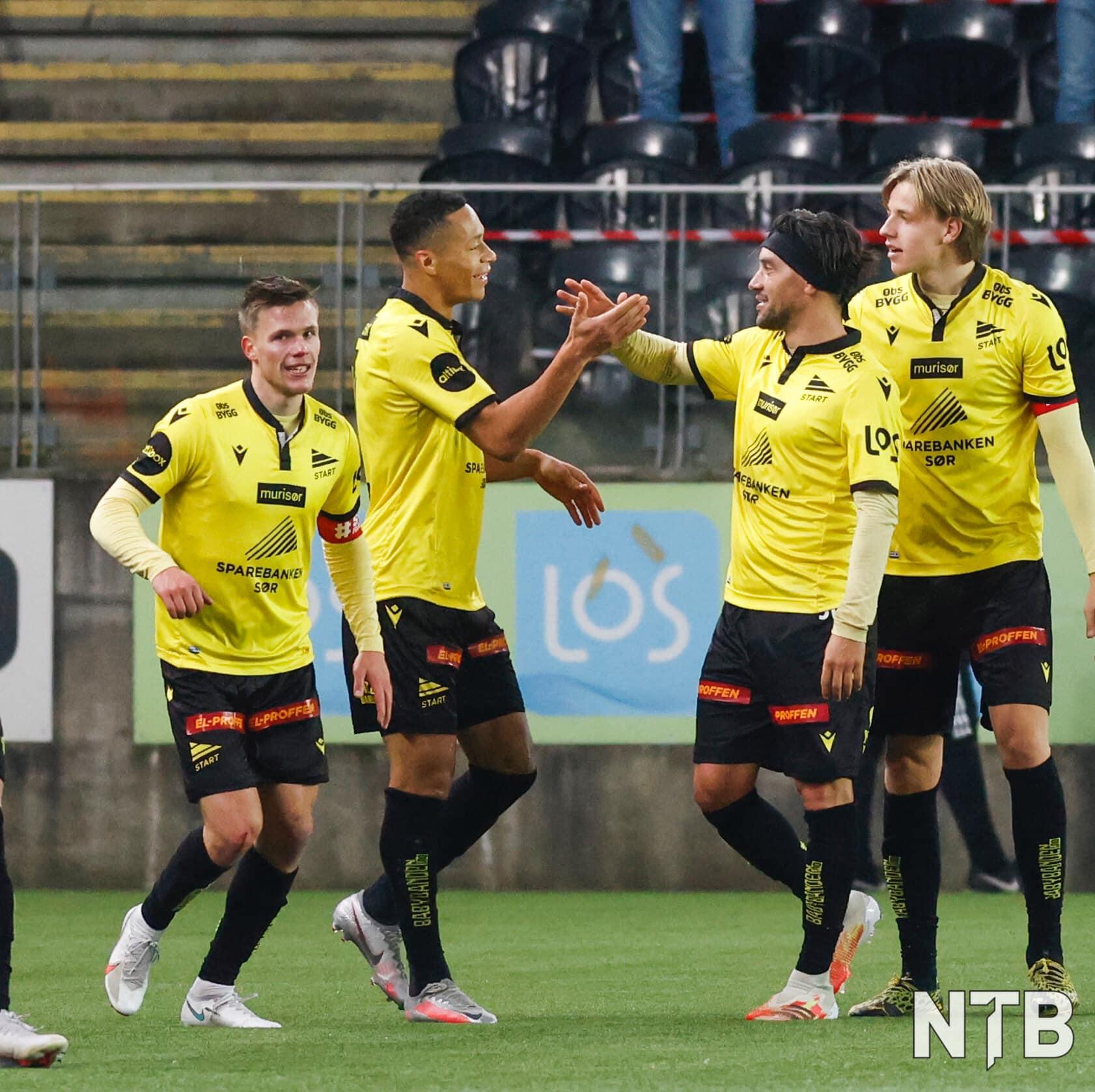 IK Start de Christian Bolaños descendió a la segunda división en Noruega.