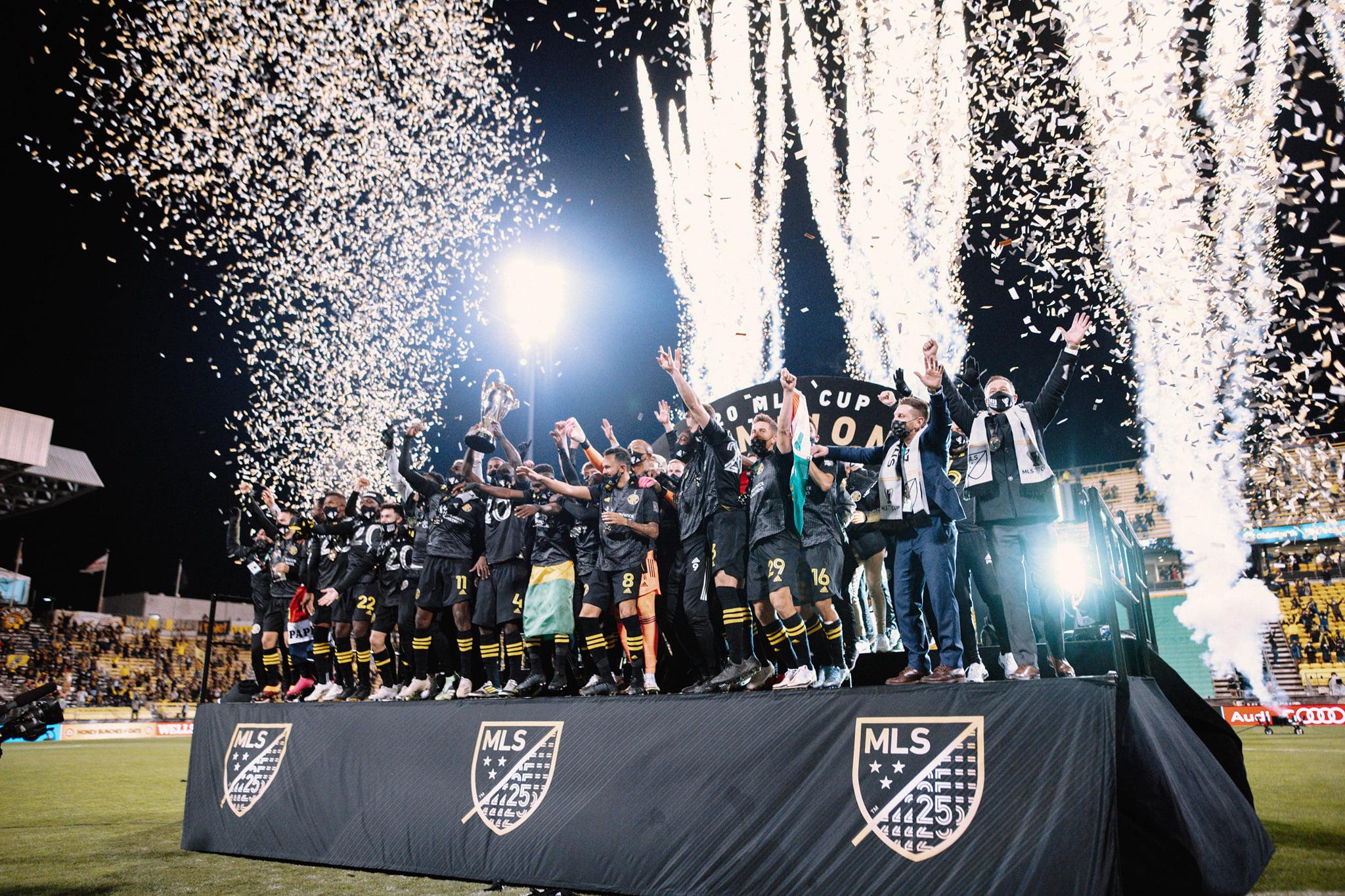Columbus Crew de Luis Díaz y Waylon Francis es el nuevo campeón de la MLS.