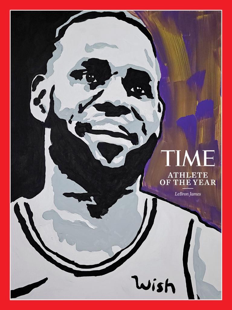 "La revista Time eligió a LeBron James como ""Atleta del año 2020"""