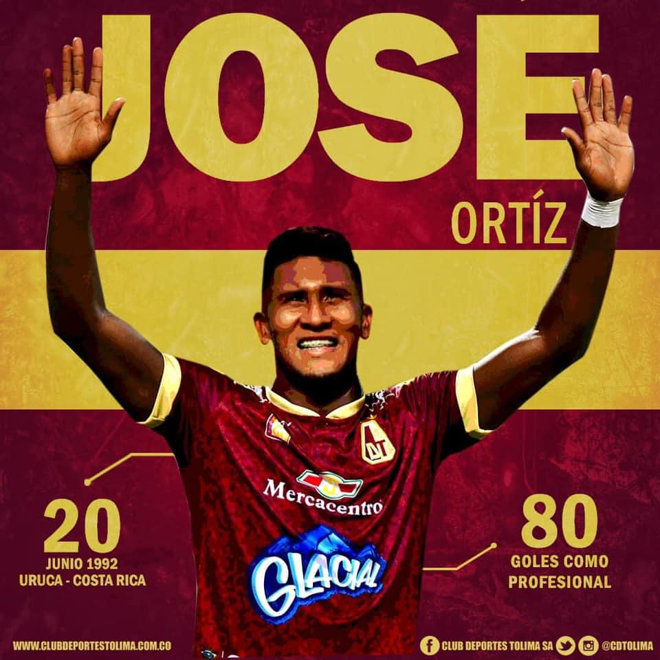 José Guillermo Ortiz deja Vietnam y regresa a Colombia para jugar con el Deportes Tolima.