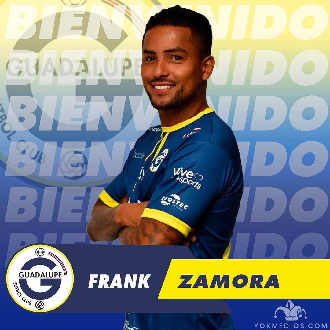 Guadalupe FC anunció la llegada del delantero Frank Zamora, proveniente del Saprissa.