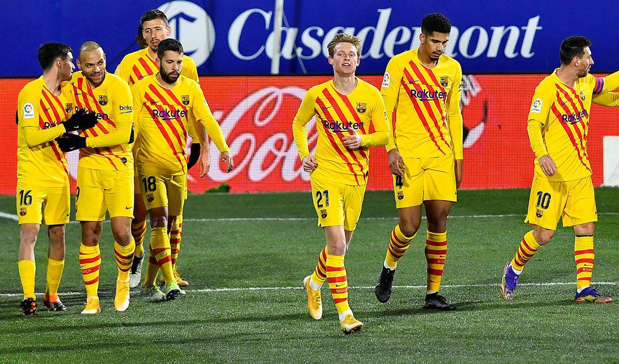 Barcelona derrotó por la mínima al colero .