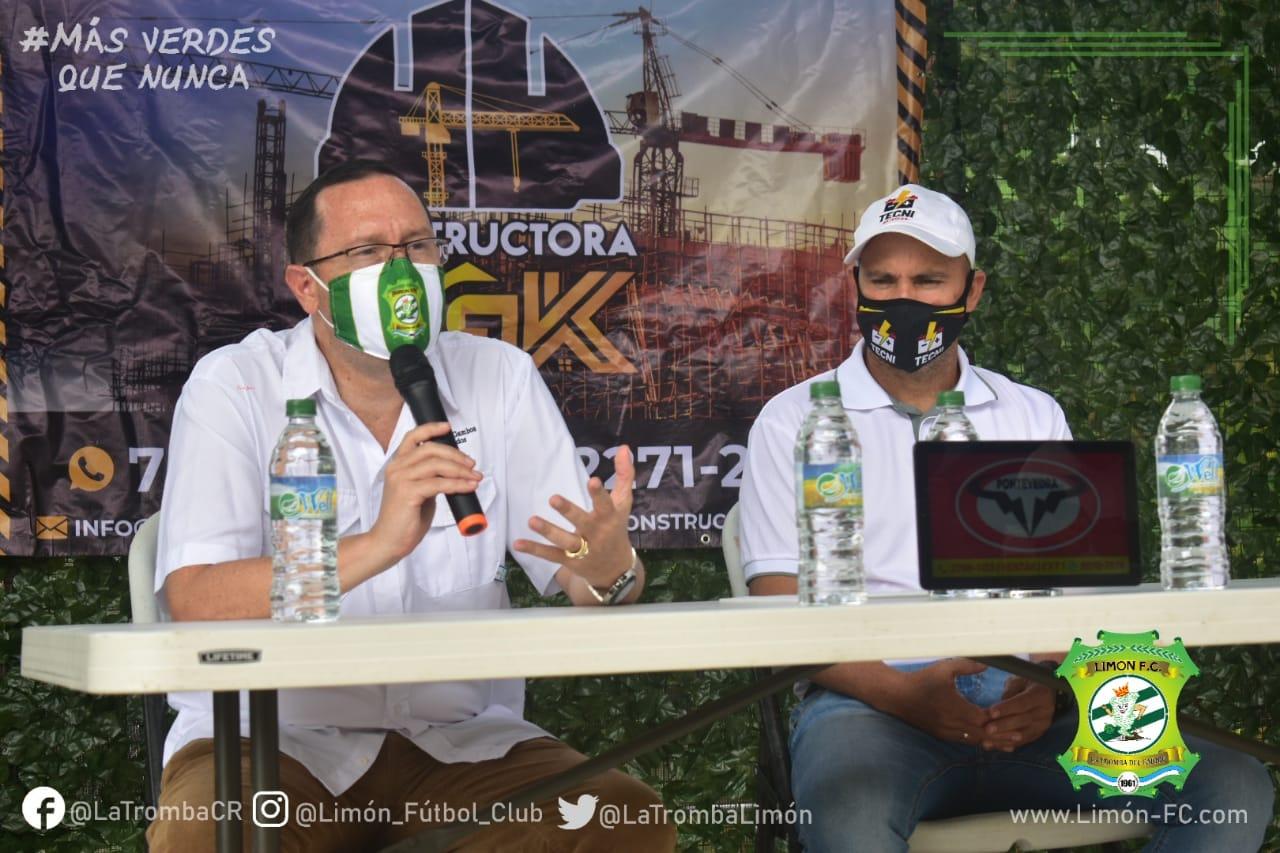 Limón FC presentó a cinco nuevos refuerzos para el Torneo Clausura 2021.