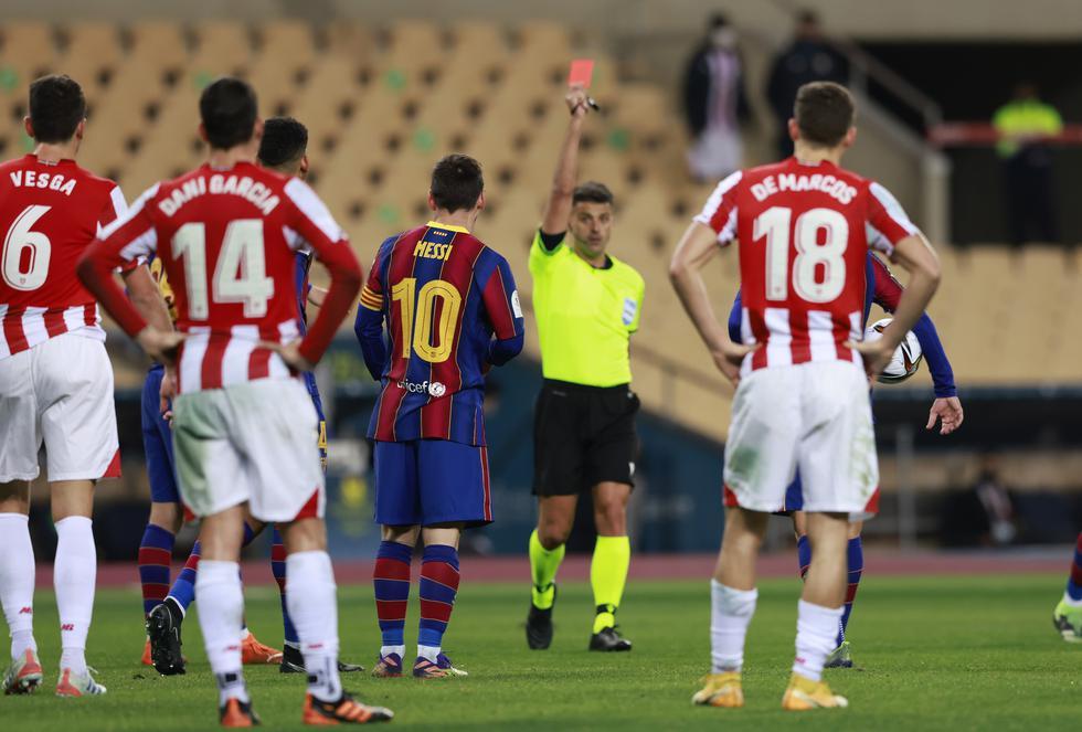 Athletic de Bilbao se consagró campeón de a Supercopa de España tras derrotar a Barcelona.