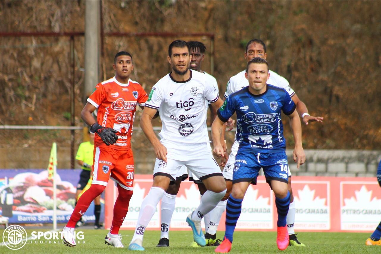 Sporting FC no soportó la presión griega y terminaron firmando un empate en el Allen Riggioni.