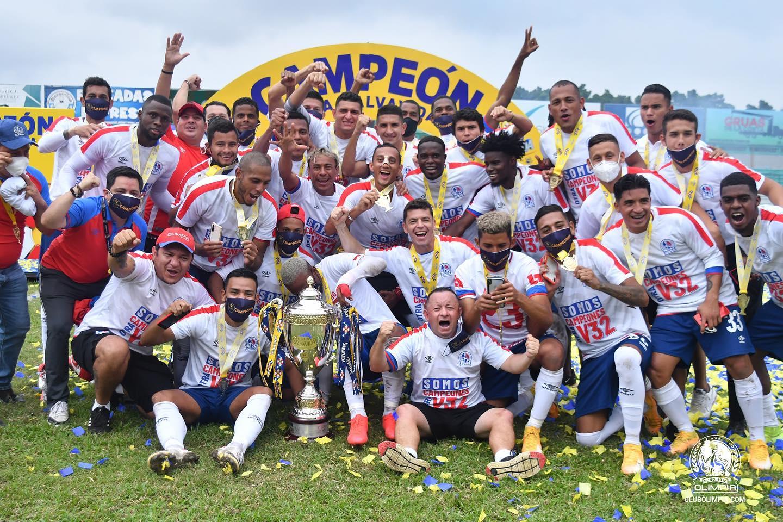Olimpia logró el bicampeonato en Honduras y ahora vendrá a Costa Rica a medirse ante Alajuelense por la Liga Concacaf.