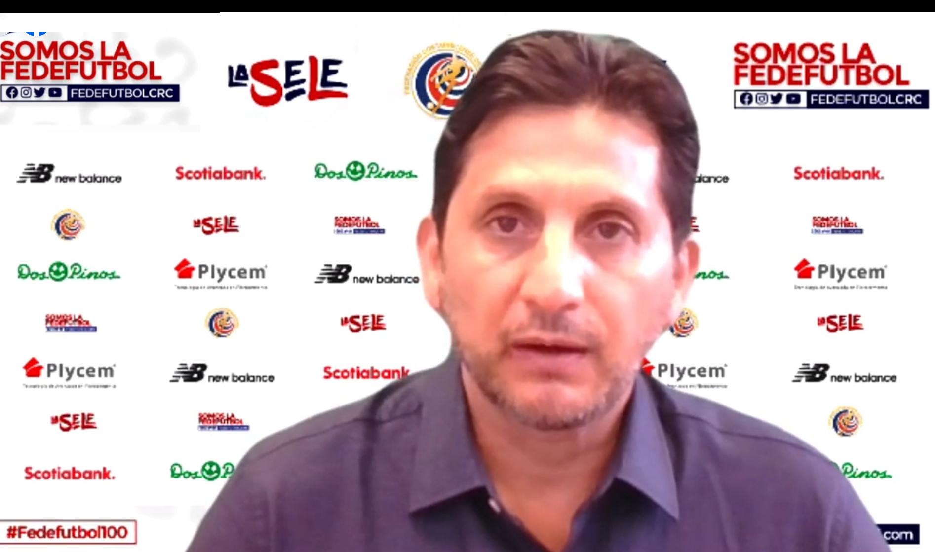 """Ronald González: """"Soy consciente que tenemos una gran responsabilidad y solo los resultados nos van a respaldar la gestión""""."""