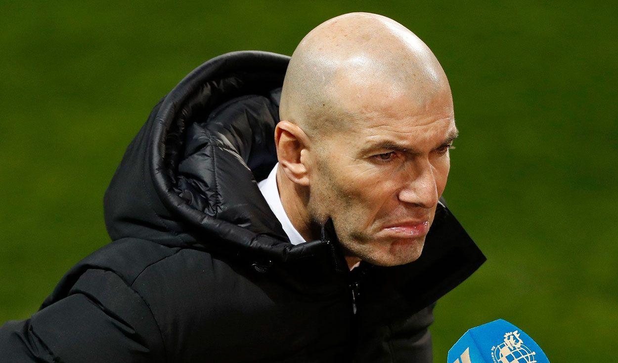 """Zinedine Zidane sobre su continuidad: """"Pasará lo que tenga que pasar""""."""