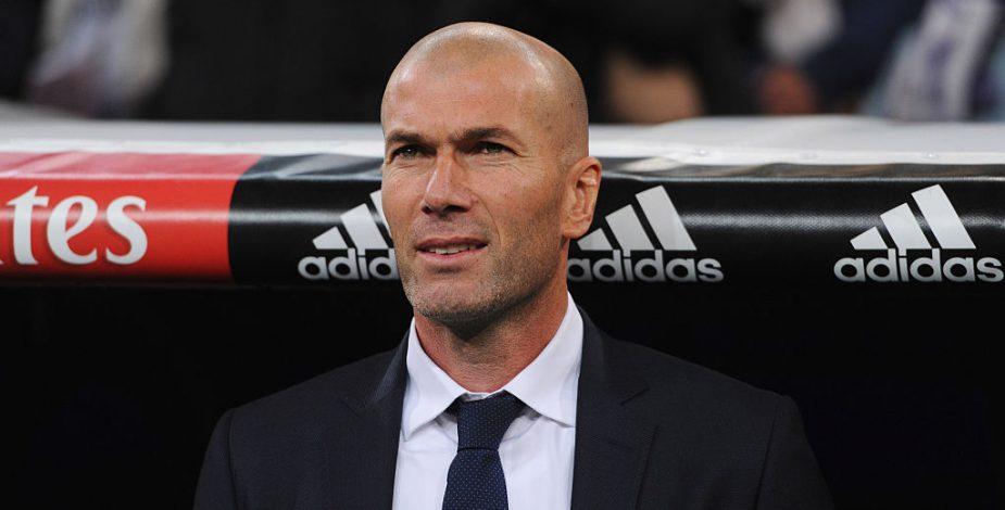 Real Madrid informó que Zinedine Zidane dio positivo por coronavirus