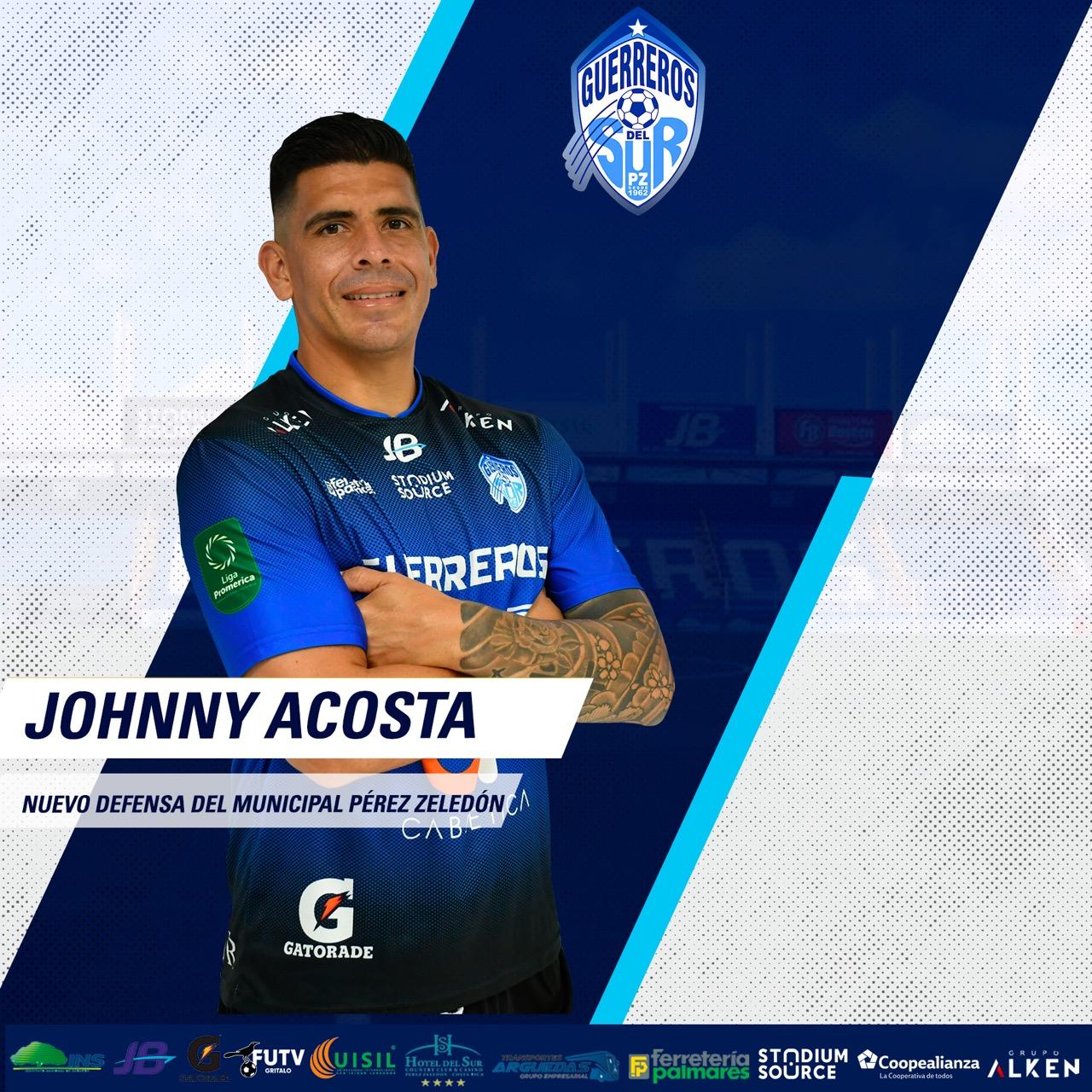 Pérez Zeledón presentó a dos nuevos refuerzos: Johnny Acosta y Starling Matarrita.