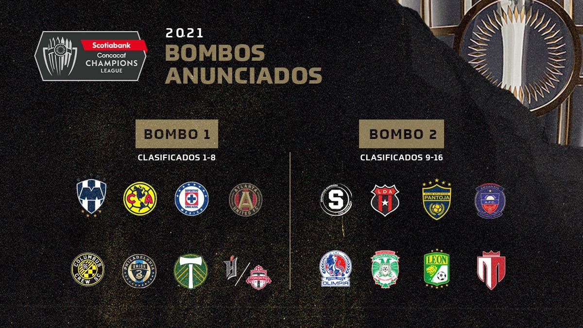 Alajuelense y Saprissa conocerán este miércoles a sus rivales en la Liga de Campeones de Concacaf.