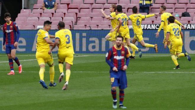 Barcelona no pasó del empate en el Camp Nou ante el Cádiz.