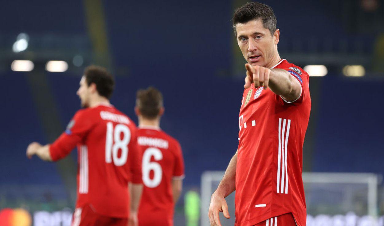Beyern Múnich goleó a la Lazio y pone pie y medio en cuartos de final de la Champions.