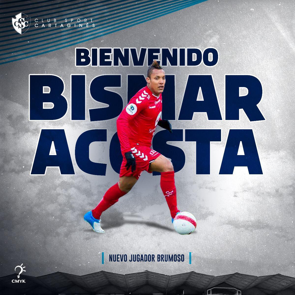 El defensor Bismar Acosta regresa al país tras 8 años en Europa y ficha con el Cartaginés.