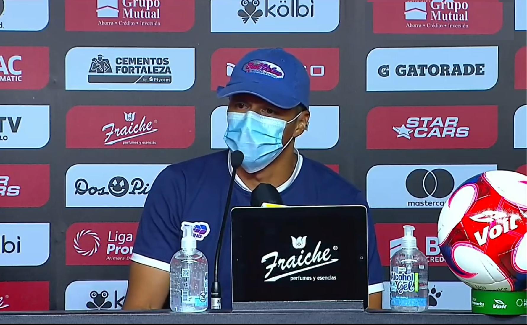 """Gilberto Martínez: """"Esta derrota me hace crecer, pero también me hace analizar que hay que mejorar muchas cosas""""."""