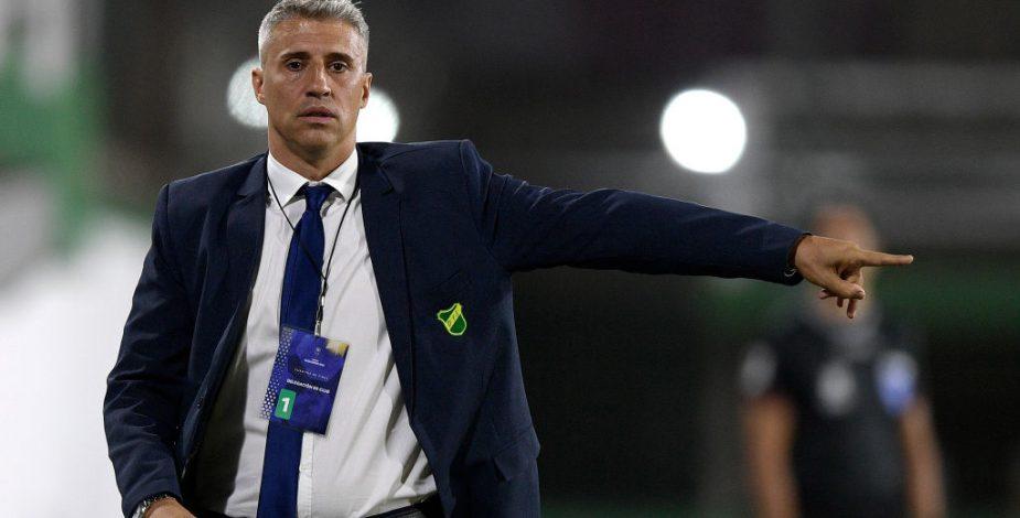 Hernán Crespo renunció a Defensa y Justicia y analiza tres buenas ofertas, entre ellas la Selección de Chile.