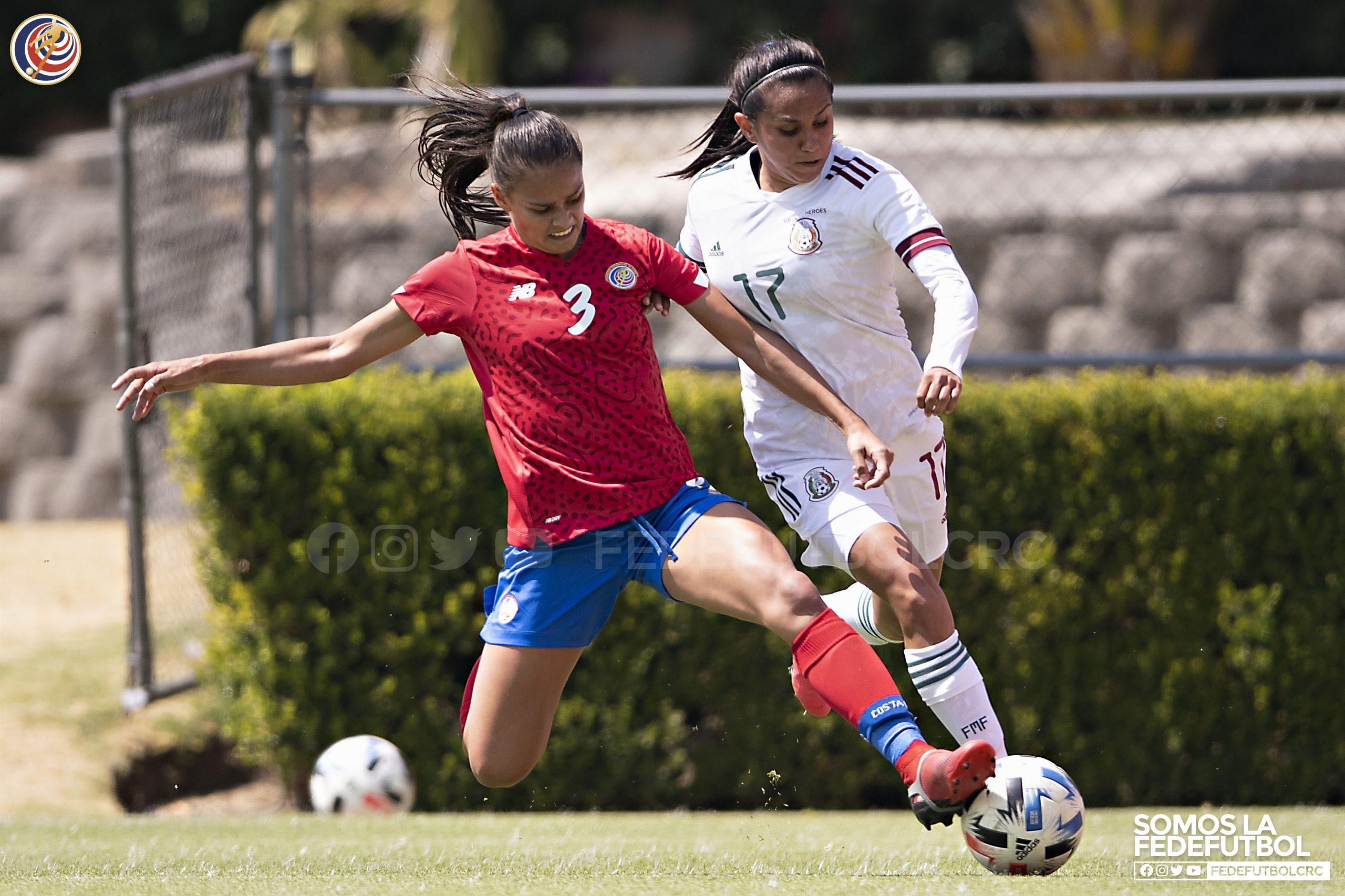 Selección Femenina cerró fogueos en México con empate ante las aztecas.
