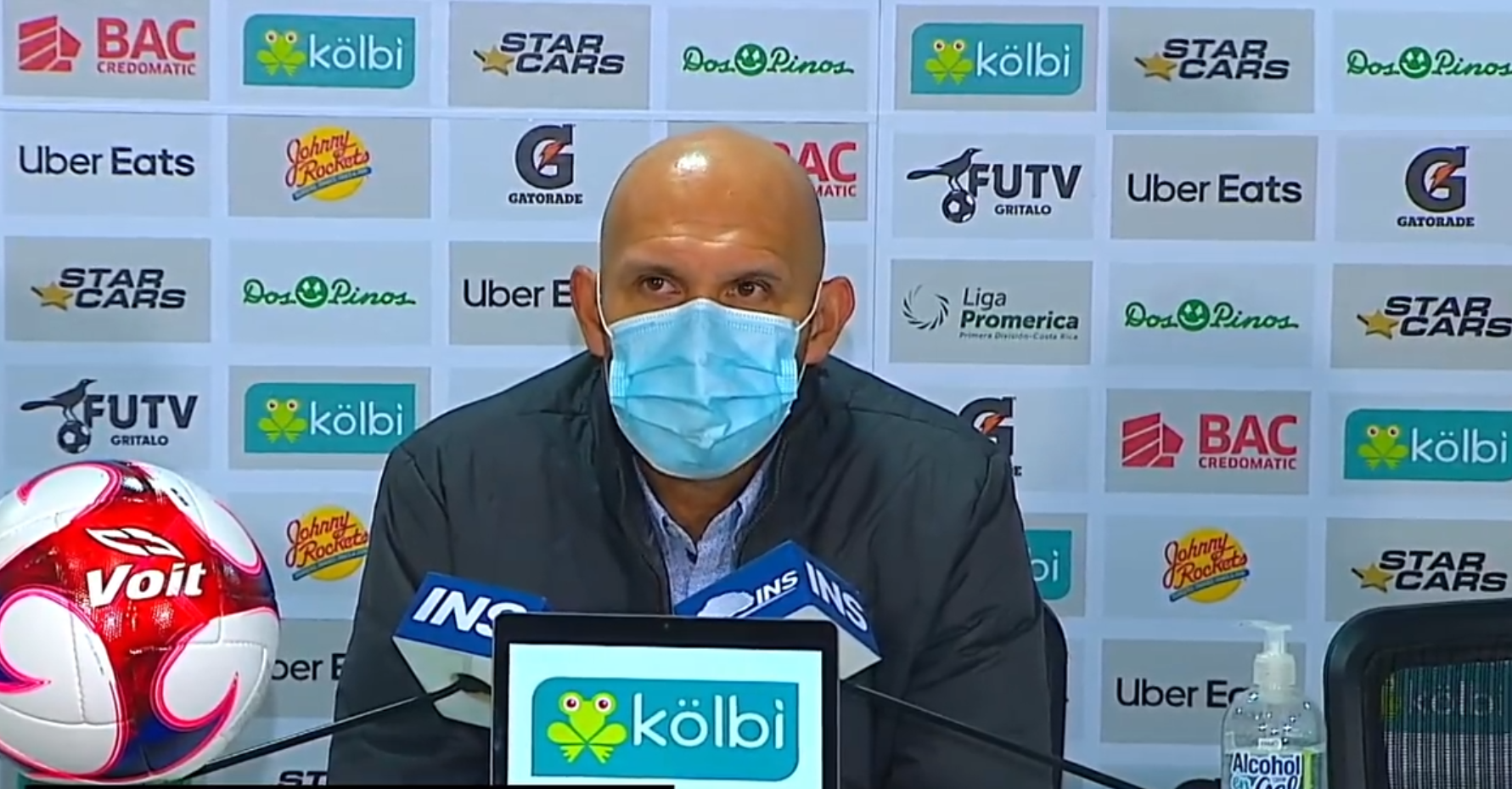 """Luis Marín: """"Estamos lejos de nuestro nivel, no podemos esconderlo""""."""