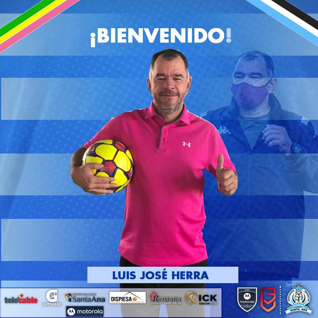 Luis José Herra es el nuevo técnico de Santa Ana en la Liga de Ascenso.