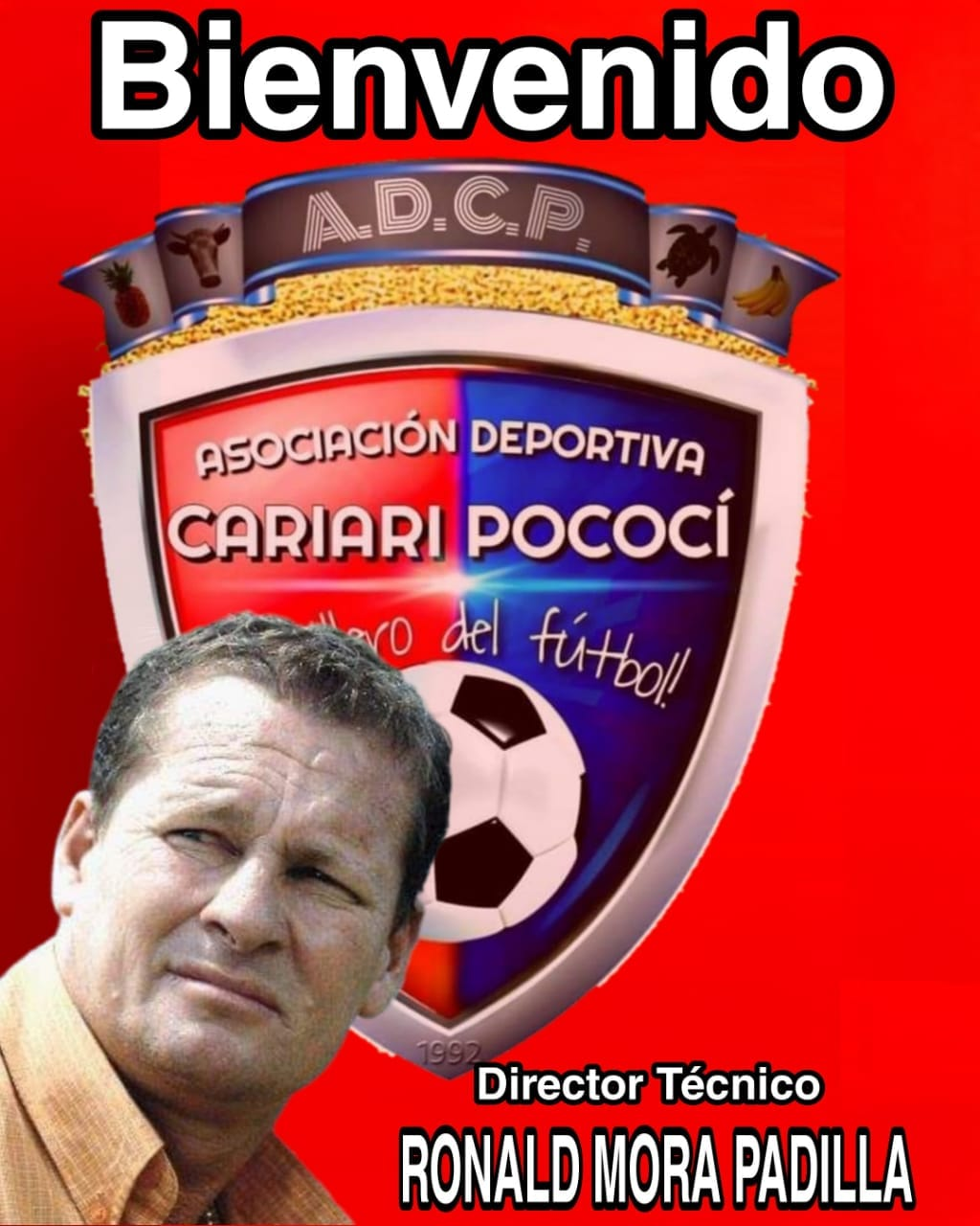 """Ronald """"Macho"""" Mora es el nuevo director técnico de Cariari Pococí."""