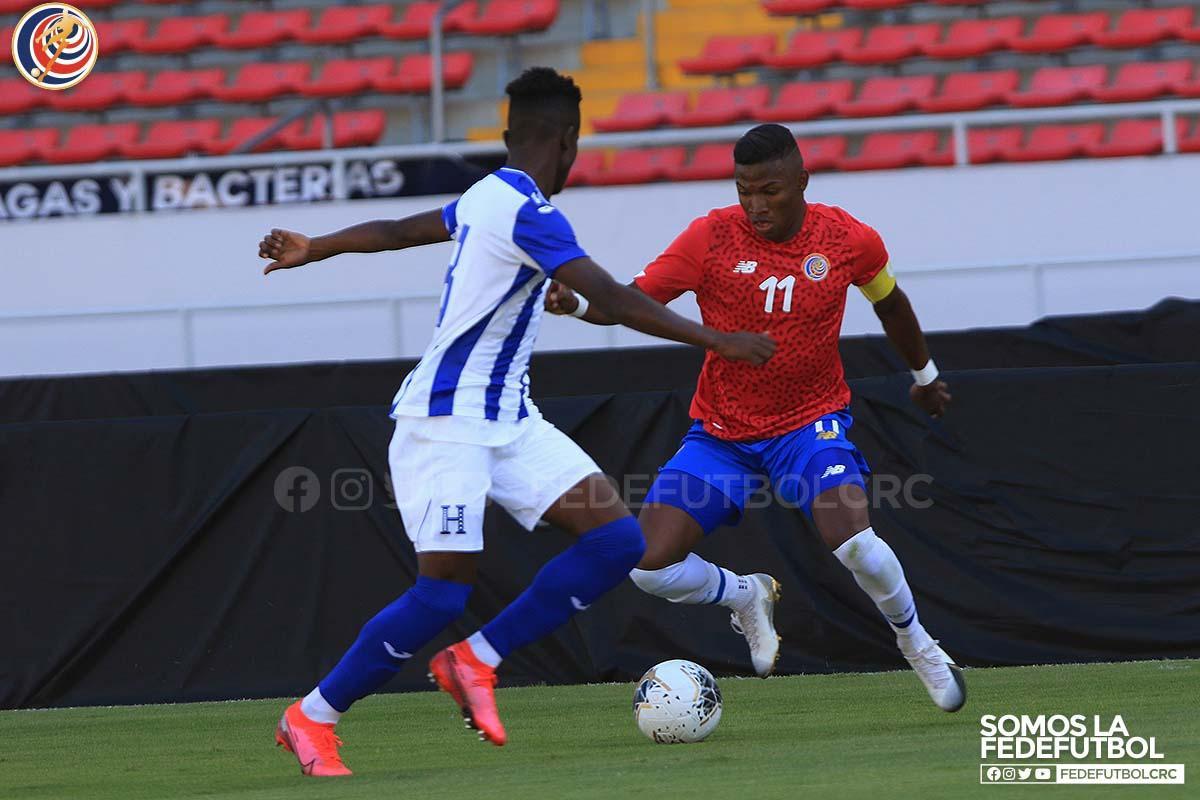 Selección Preolímpica empató sin goles con Honduras.