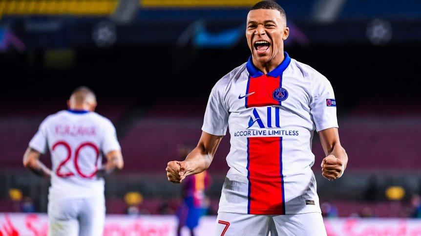 El exorbitante precio que le puso PSG a Mbappé luego de su triplete ante el Barcelona.