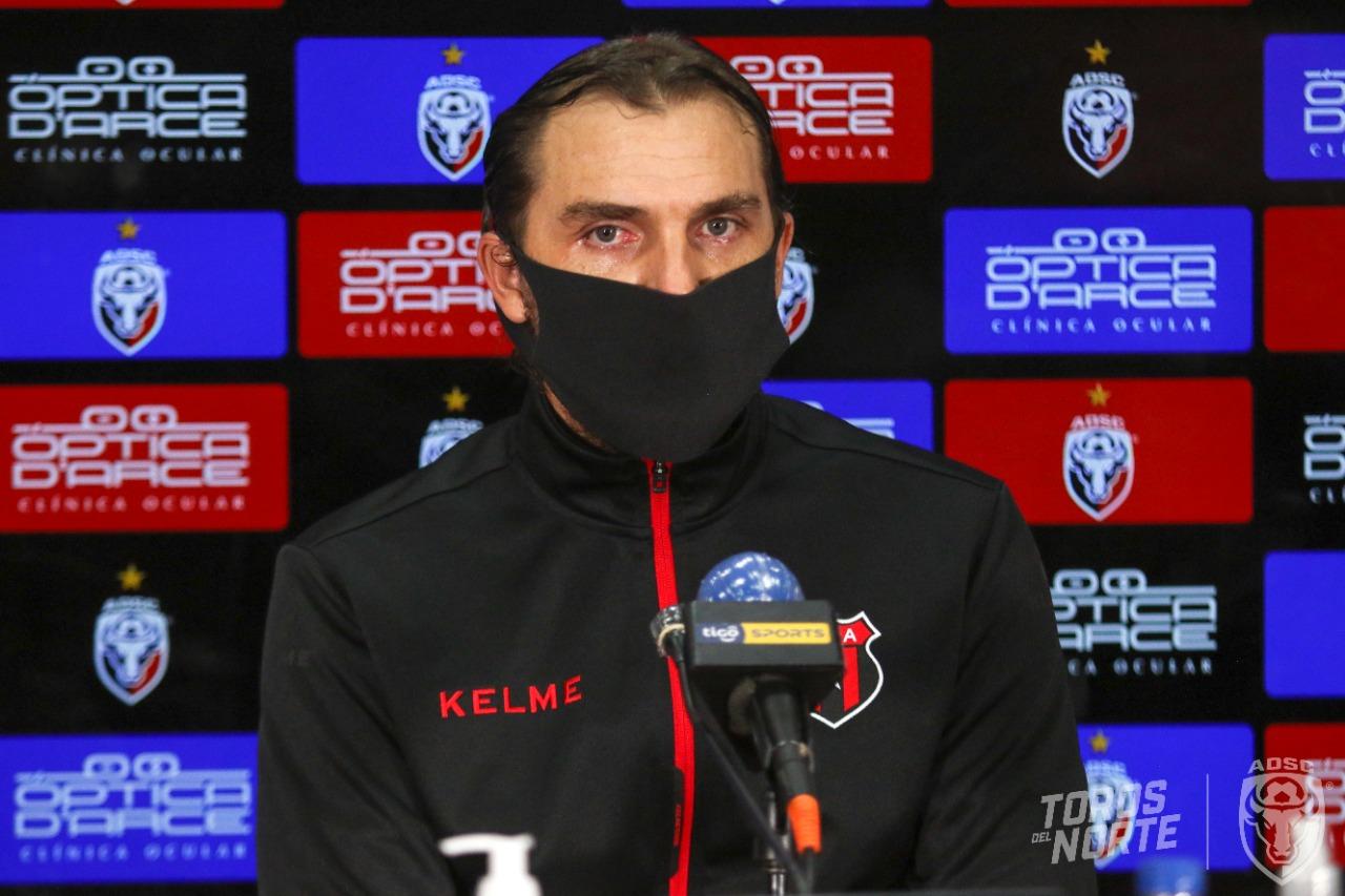 """Andrés Carevic: """"Nos propusimos ganar este partido como equipo y resalto ese gran esfuerzo conjunto""""."""