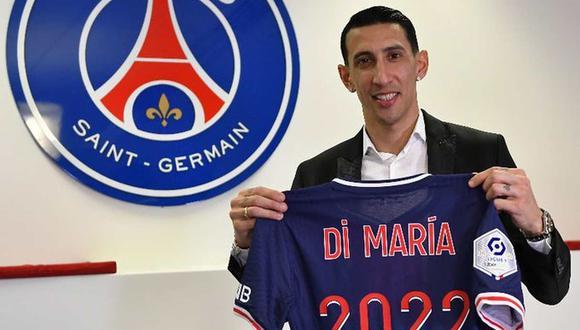 Ángel Di María renovó por un año más con el Paris Saint Germain.