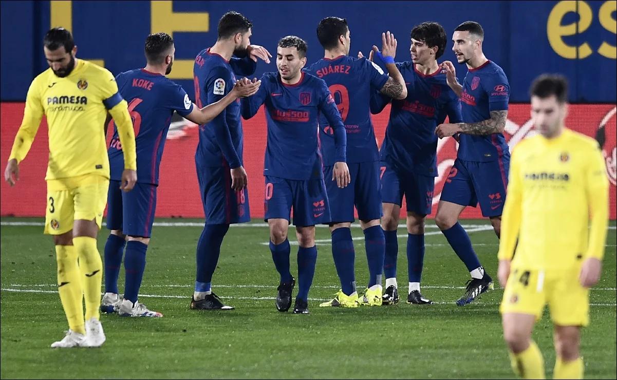 Atlético de Madrid vence a Villarreal y se consolida en la punta de LaLiga.