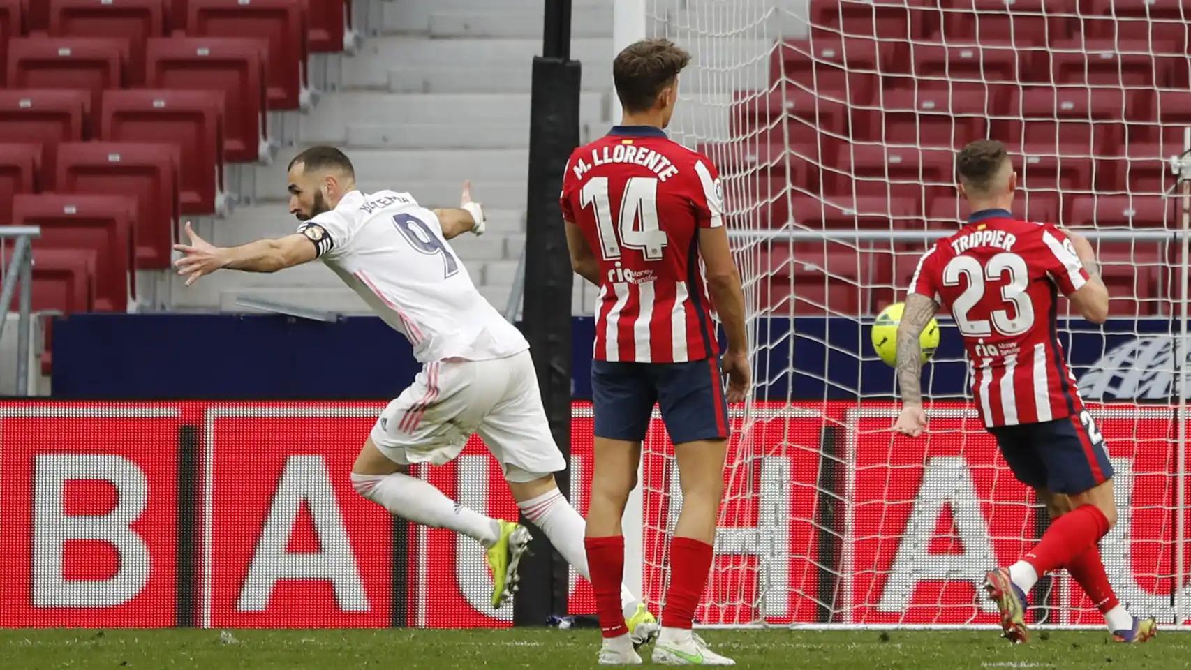Real Madrid rescató un empate sobre el final ante el Atlético y puso al rojo vivo la pelea por la Liga.