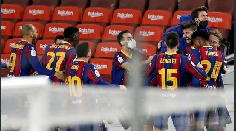 El Barcelona remonta y clasifica a la final de la Copa del Rey