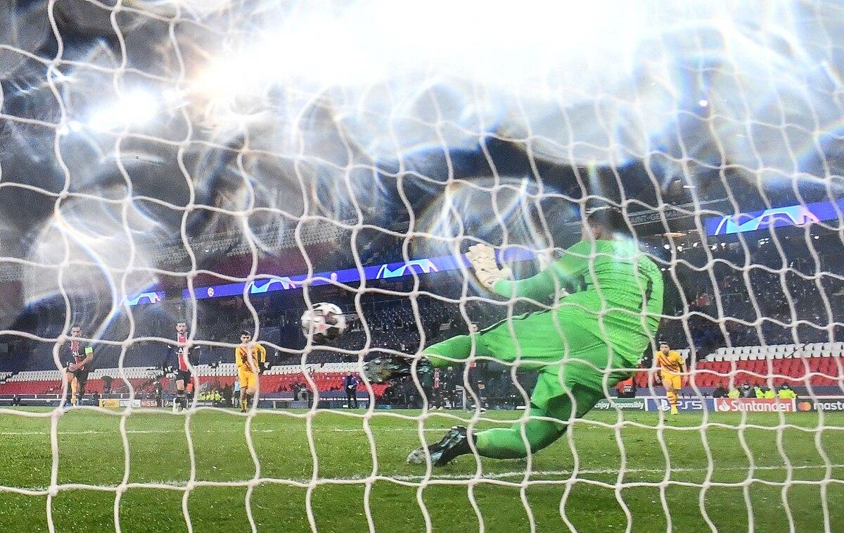 """Keylor Navas: """"Siempre es difícil de parar un penal, sobre todo frente a Messi""""."""