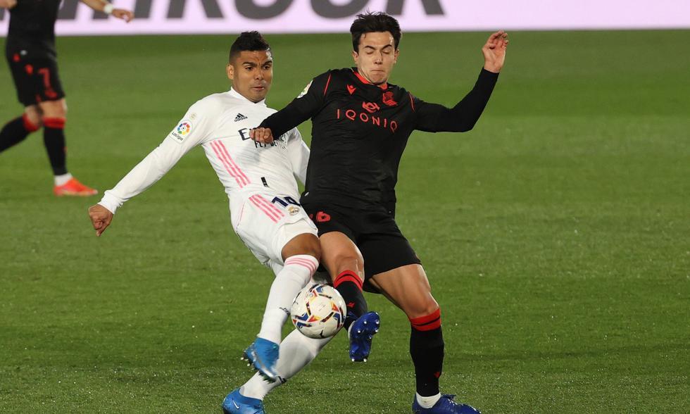Real Madrid empató ante la Real Sociedad y pierde puntos valiosos en su lucha por el título.