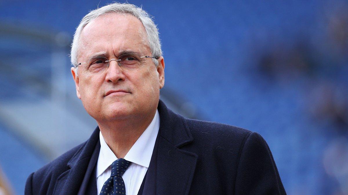 Suspenden al presidente y a los médicos de la Lazio por esconder casos positivos de coronavirus en el equipo.