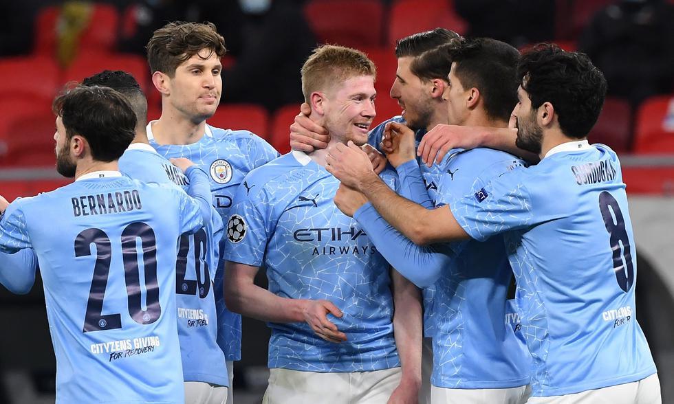 Manchester City clasifica nuevamente a cuartos de final tras eliminar al Borussia Mönchengladbach.