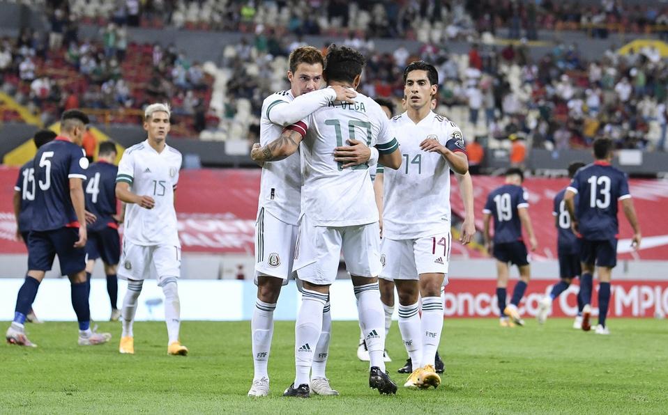 México debuta en el Preolímpico con triunfo cómodo sobre República Dominicana.