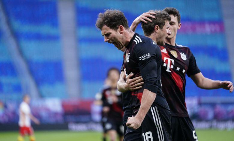 Bayern Múnich derrotó al Leipzig y se acerca a su noveno título al hilo en la Bundesliga.