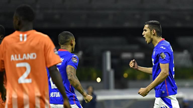Cruz Azul goleó 8 a 0 al Arcahaie de Haití y clasifica a cuartos de final de la Concachampions.