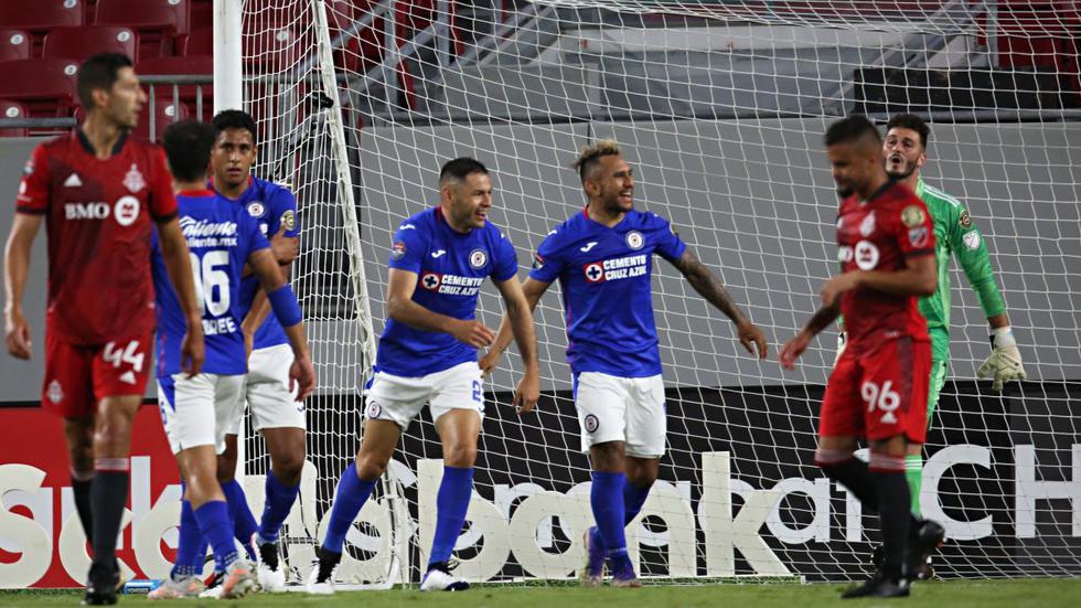 Cruz Azul se impuso a Toronto por los cuartos de final de la Concachampions.