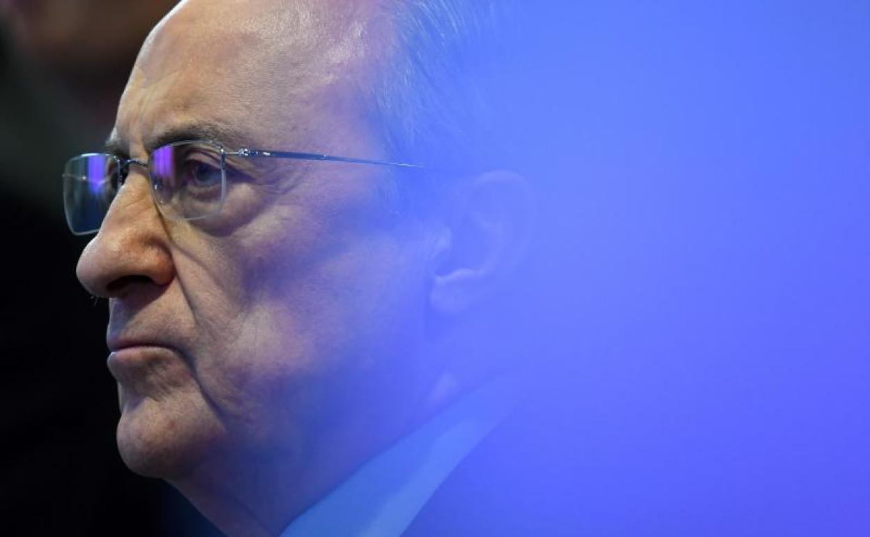 Florentino Pérez reelegido como presidente del Real Madrid.