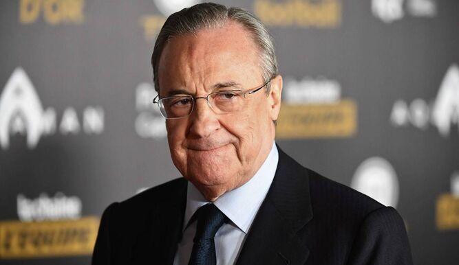 Florentino Pérez oficializó su candidatura para buscar la reelección como presidente del Real Madrid.